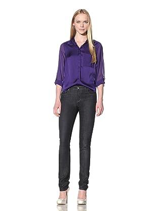 Christopher Blue Women's Tryst Cigarette Jean (Dakota Wash Dark Blue)