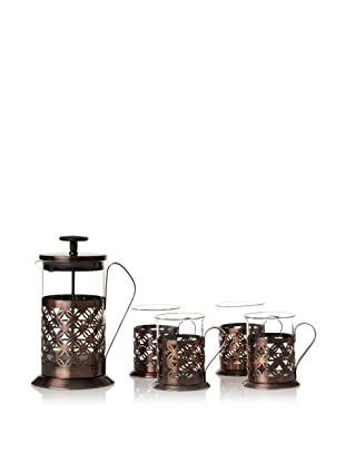 Classic Coffee & Tea Coffee & Tea Press Set, Copper