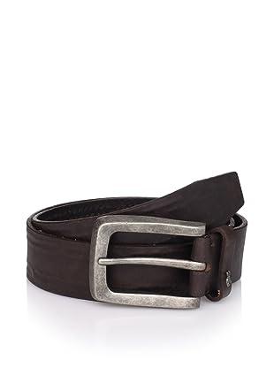 John Varvatos Star USA Men's Distressed Belt (Brown)
