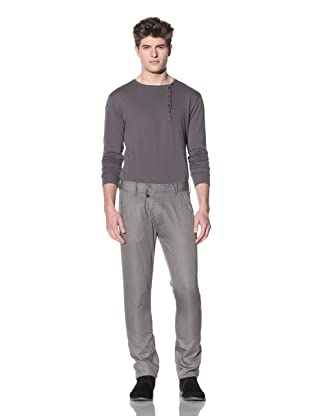 ZAK Men's Lightweight Straight Pant (Heather Grey)