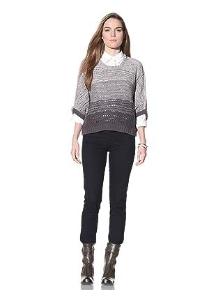 Acrobat Women's Slouch Sweater (Smoke)