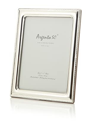 Argento SC Thin Border Sterling Silver Frame, 5