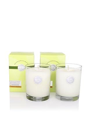 The SOi Company Set of 2 Vanilla Orange 13.5-Oz. Luxe Boxed Highball Candles