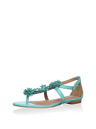 Corso Como Women's Fountain Flat Sandal (Ocean)