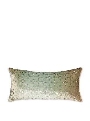 Kevin O'Brien Studio Petal Flower Velvet Pillow, Taupe, 8