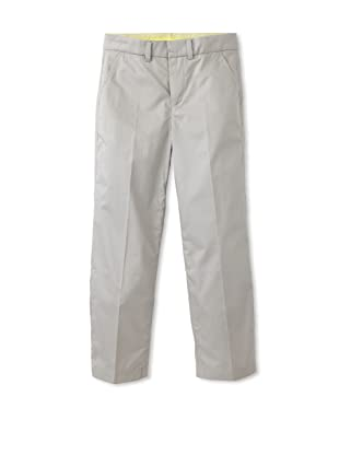 kicokids Boy's Straight Leg Casual Trousers (Grey)