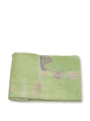 Mili Designs NYC One of a Kind Vintage Kantha Throw, #158