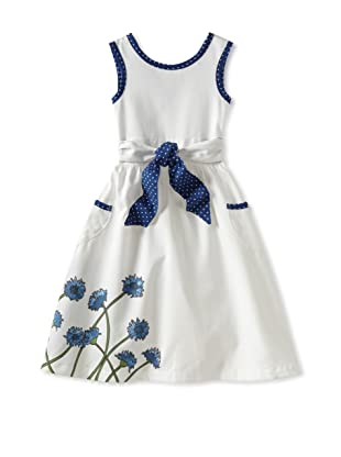 Amoretti Girl's Fancy Free Dress (Cornflower)
