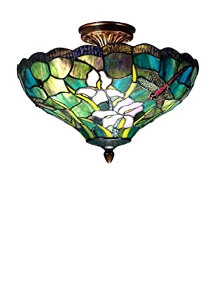 Dale Tiffany Savannah Flush-Mount Light