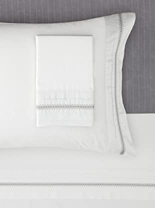 Belle Epoque Eternal Sheet Set (White/Grey)