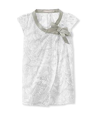 Je suis en CP! Cache Coeur Dress (Grey Roses)