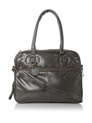 Latico Women's Fay Top-Zip Convertible Briefcase (Clay)