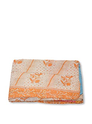Mili Designs NYC One of a Kind Vintage Kantha Throw, #206