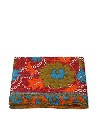 Mili Designs NYC One of a Kind Vintage Kantha Throw, #188