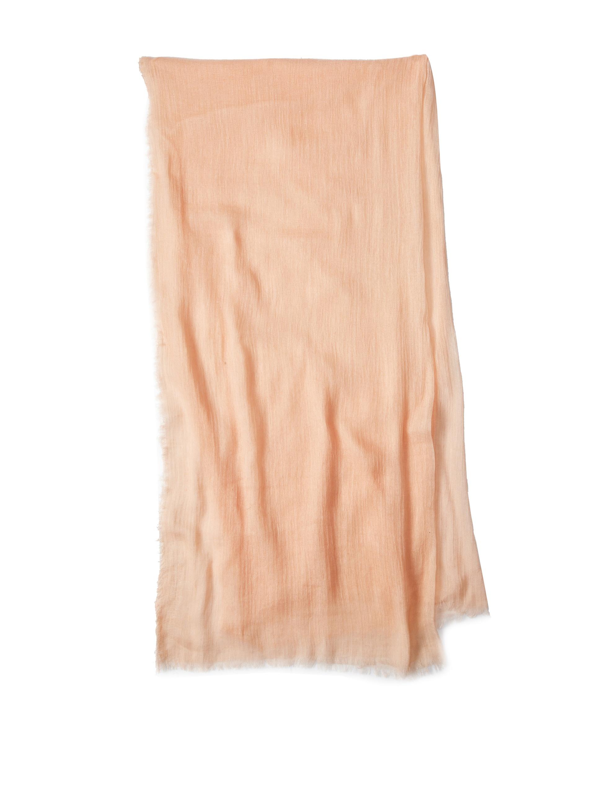 Carolina Amato Women's Cotton Gauze Wrap (Blush)