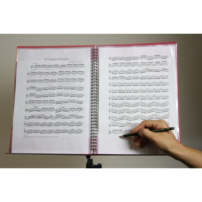 楽谱ファイル FREE FILE Super Note リング式 イエロー music 音乐