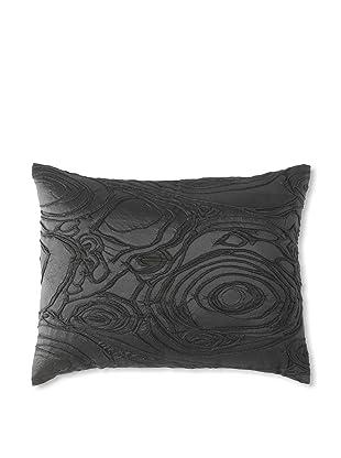 Belle Epoque Rythmic Decorative Pillow, Black, 12