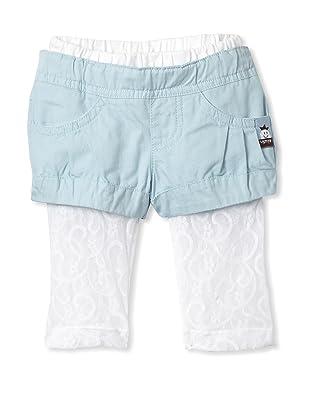 Le Petit Pumm Girl's Short Capri (Blue)