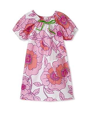 Mad Sky Baby 2pc Raglan Sleeve Dress & Hat Set (Lavender Toile)