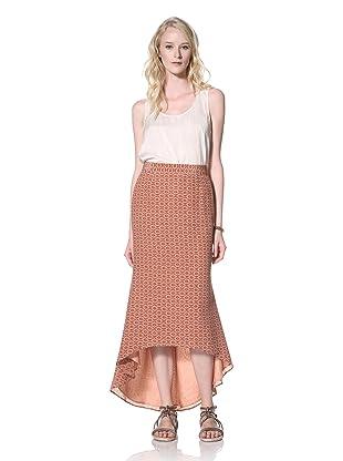 Winter Kate Women's Kala Long Skirt (Burgundy Multi)