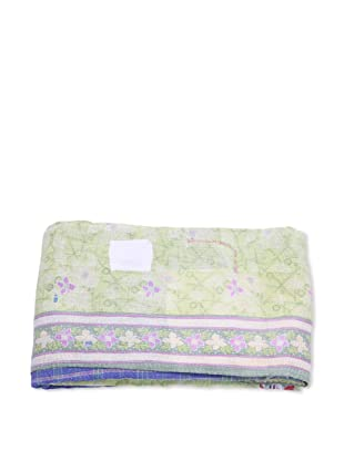 Mili Designs NYC One of a Kind Vintage Kantha Throw, #116