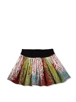 Bebe Bushh Girls Printed Skirt (Print)