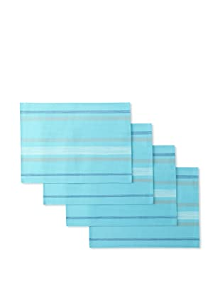 Winkler Set of 4 Paint Placemats (Turquoise)