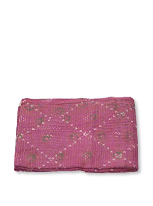 Mili Designs NYC One of a Kind Vintage Kantha Throw, #263