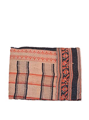 Mili Designs NYC One of a Kind Vintage Kantha Throw, #113