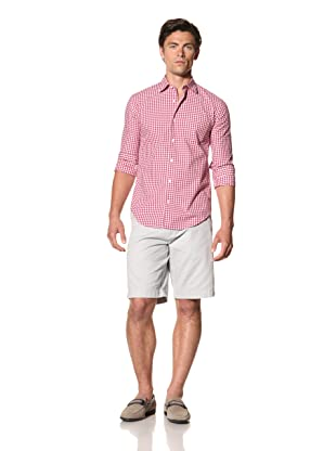 Haspel Men's Check Plaid Shirt (Cranbury Check)