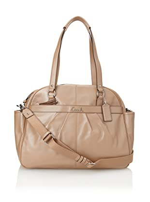 Coach Addison Leather Baby Bag Tote, Beige