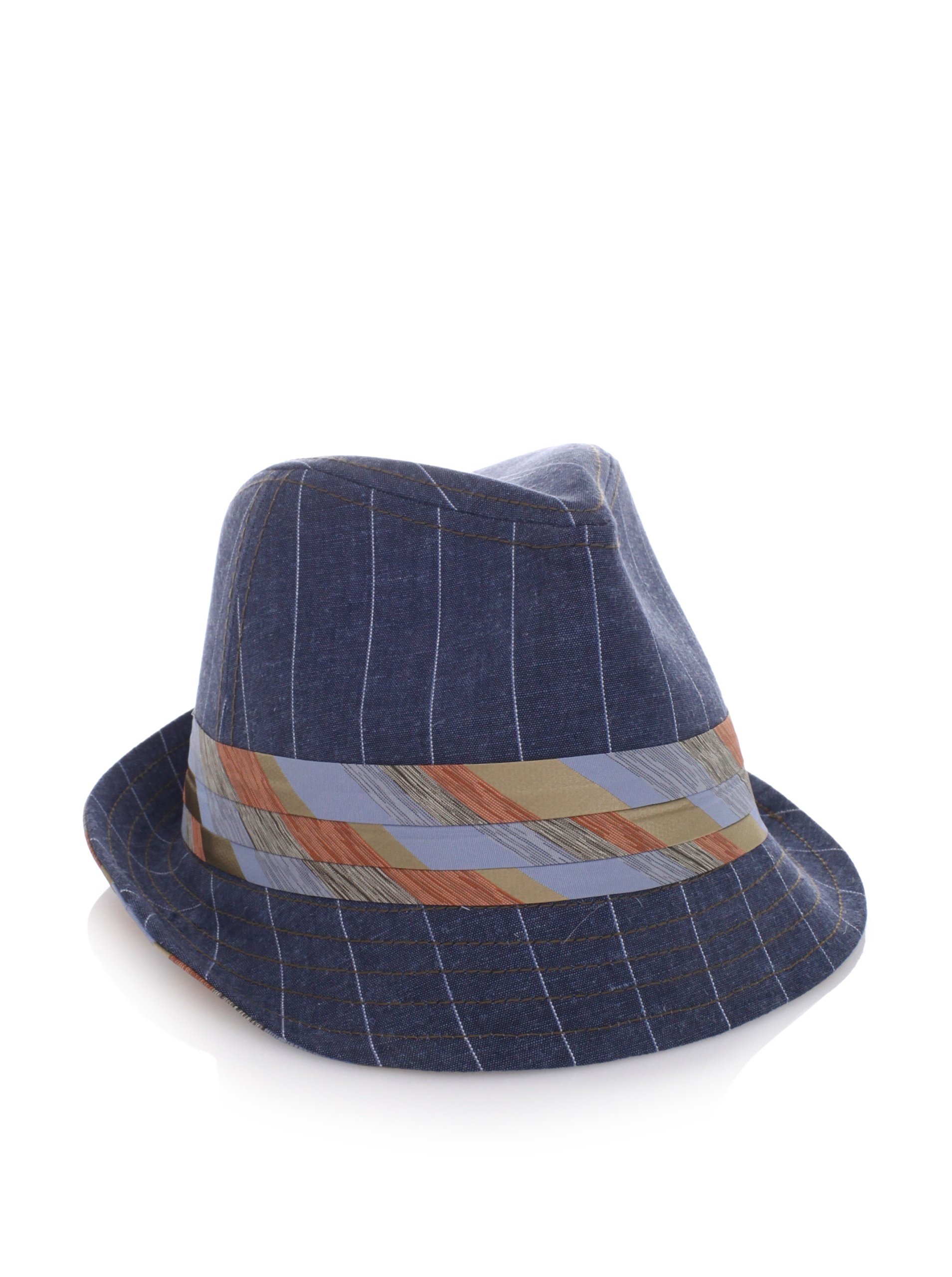Goorin Brothers Men's Lady Carrie Fedora (Navy)