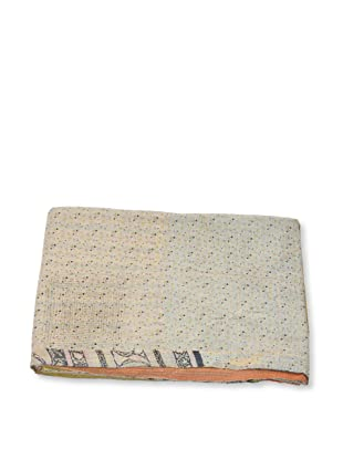 Mili Designs NYC One of a Kind Vintage Kantha Throw, #215