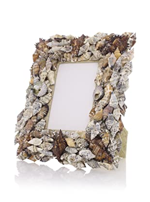 Seaside Cottage Shell Frame (Brown)