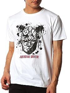 「ジョジョの奇妙な冒険」コラボTシャツ「石仮面」 メンズ