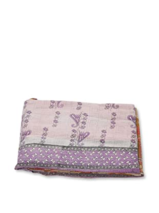 Mili Designs NYC One of a Kind Vintage Kantha Throw, #237