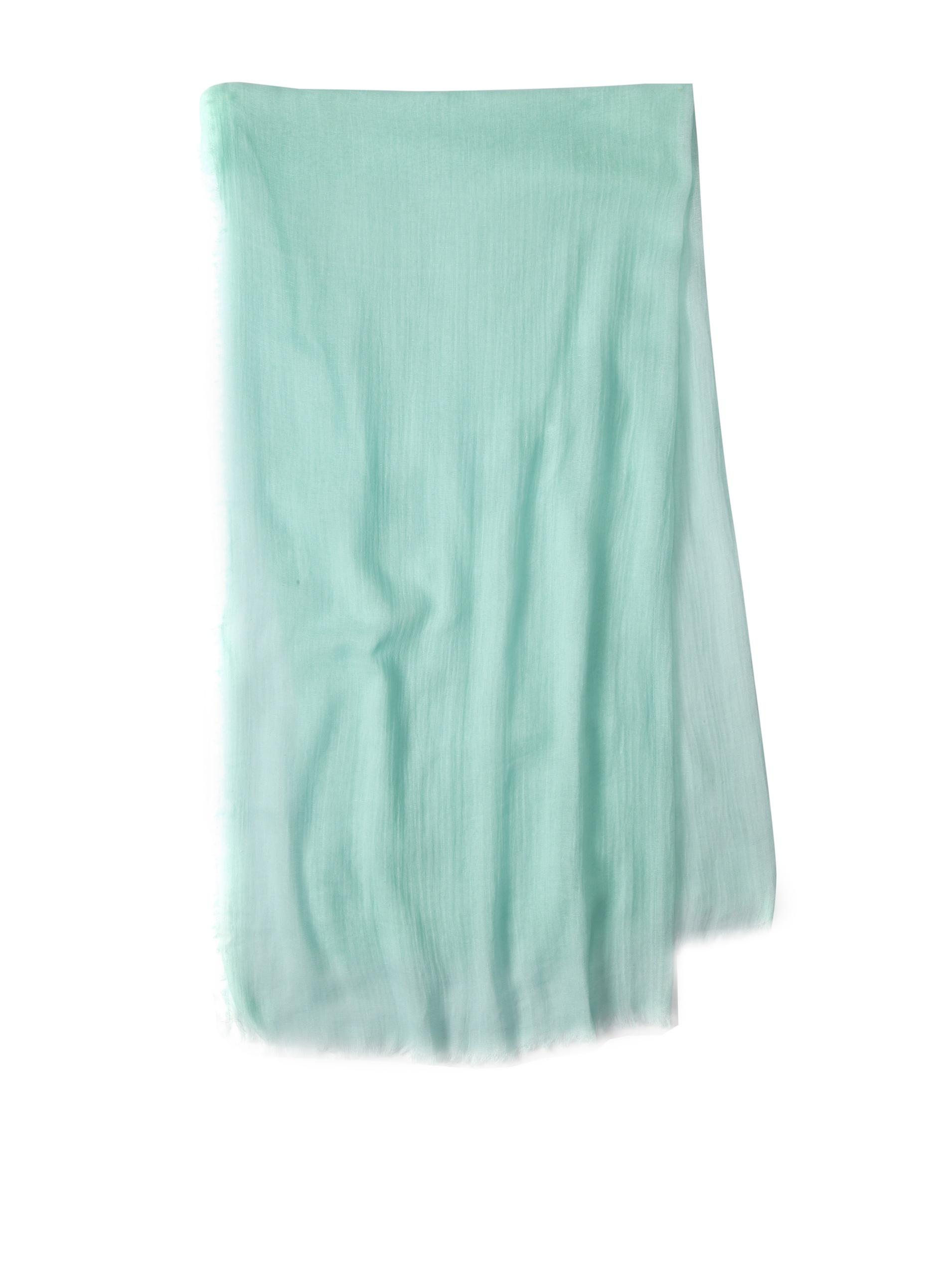 Carolina Amato Women's Cotton Gauze Wrap (Seafoam)