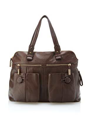 Bodhi Women's Sophisticated Tote (Chocolate)