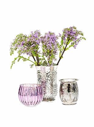 Chive Set of 3 Vie Jolie Vases