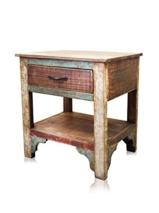 Reclaimed Wood Furniture Bombay One Drawer Nightstand