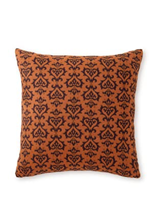Bliss Studio Majestic-Pattern Pillow, Purple/Orange, 20