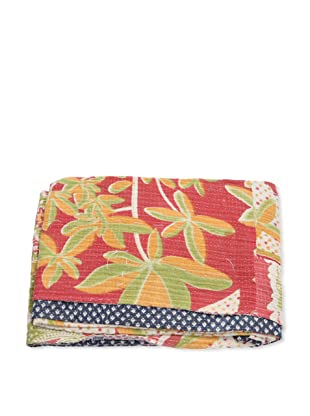 Mili Designs NYC One of a Kind Vintage Kantha Throw, #123