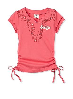 Bebe Bushh Girls Short Sleeve Tee (Pink)
