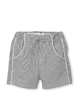TroiZenfants Boy's Pinstripe Swim Trunks (Grey)
