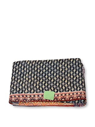 Mili Designs NYC One of a Kind Vintage Kantha Throw, #288