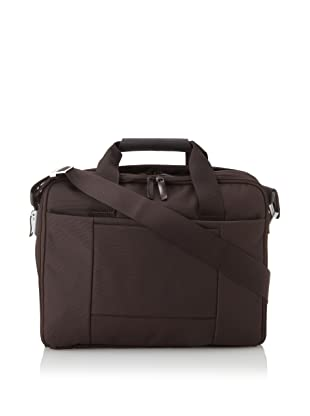 Mandarina Duck Double-Handle Briefcase with Removable Laptop Bag (Marrone)