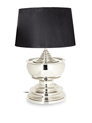 Barclay Butera Seaside Table Lamp With Ultra Suede Shade (Silver)