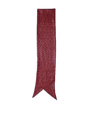 MARNI Women's Silk Printed Scarf, Black/Red