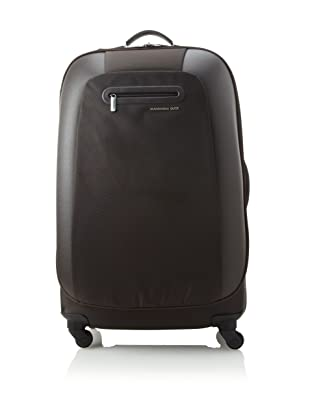 Mandarina Duck Large Scratch Resistant Trolley with Aluminum Handle (Marrone)