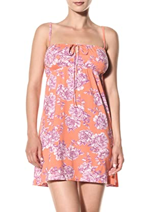 Cosabella Women's Tilly Print Chemise (Coral Breeze)